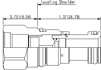 XGAA : T-13A cavity to T-8A cavity converter