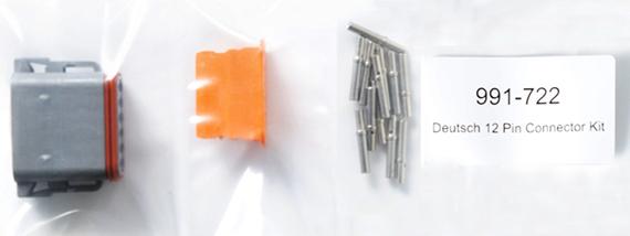 991722 : 12-pin Deutsch connector kit