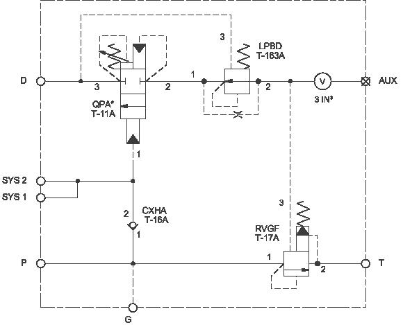 Detector de presión en el acumulador, descargador de bomba  ensamblaje