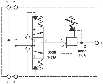 Baugruppe Spülventil/Druckbegrenzungsventil