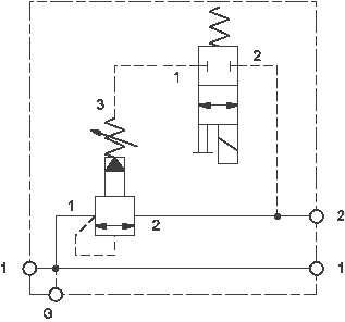 Solenoid-operated, sequence assembly