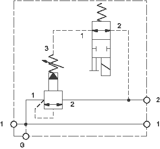 Solenoid operated, sequence assembly