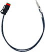 XMD Series, 2-pin Deutsch prototype cable - 30CM