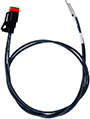 XMD Series, 2-pin Deutsch prototype cable - 60CM