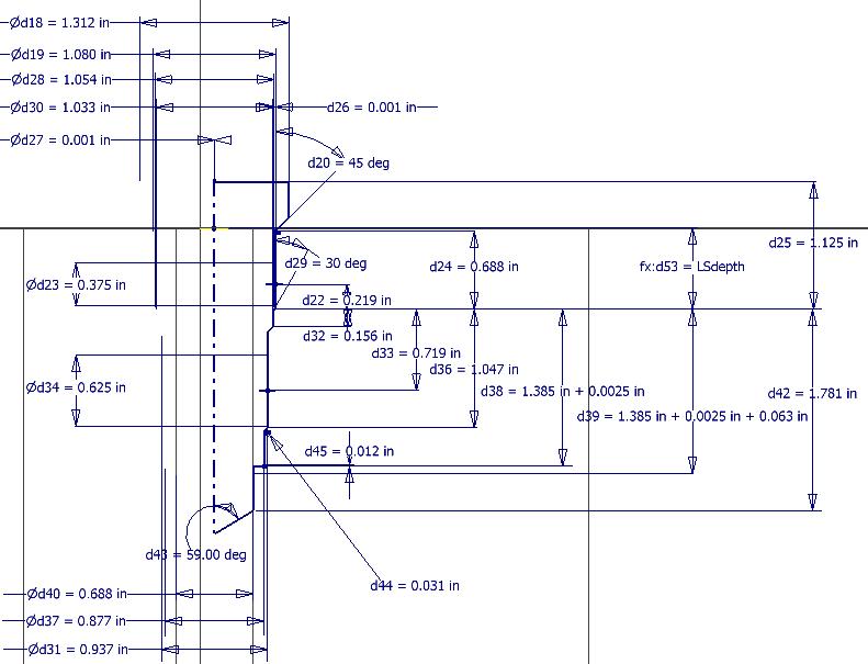 Sun Hydraulics T2A Cavity Form Reamer 995-002-101 99502 TR-2A Machine Tool