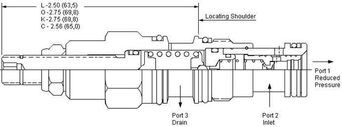 PBDB : Pilot-operated, 减压 阀