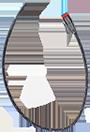 FLeX Series, adaptateur câble - 2-pin Deutsch vers bifilaire