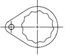 系列1 插装阀 定位 组件
